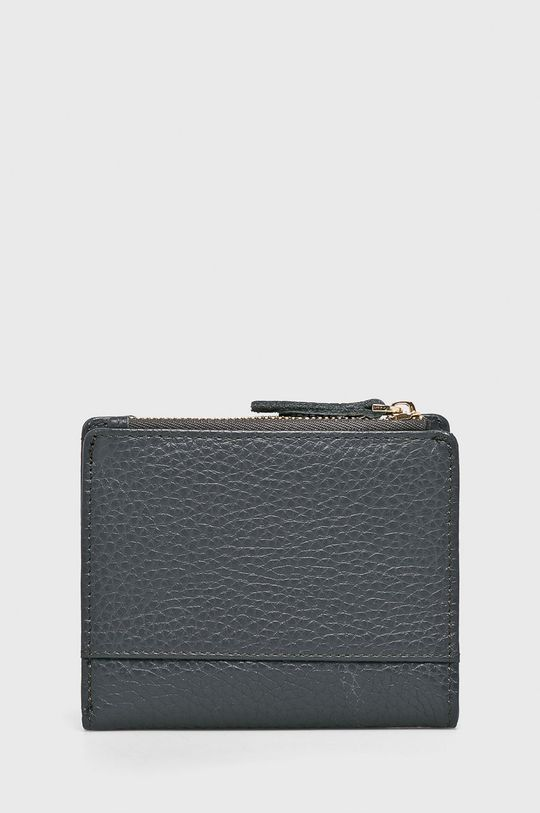 Answear - Kožená peňaženka sivá