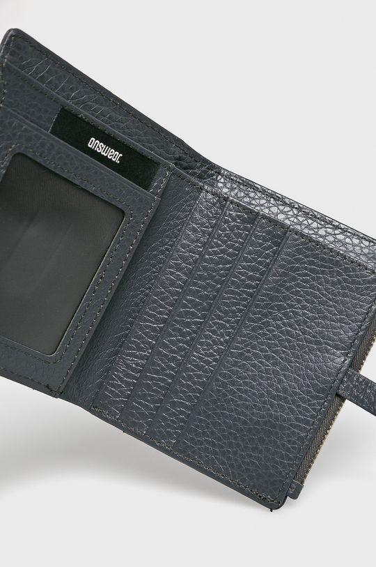 sivá Answear - Kožená peňaženka