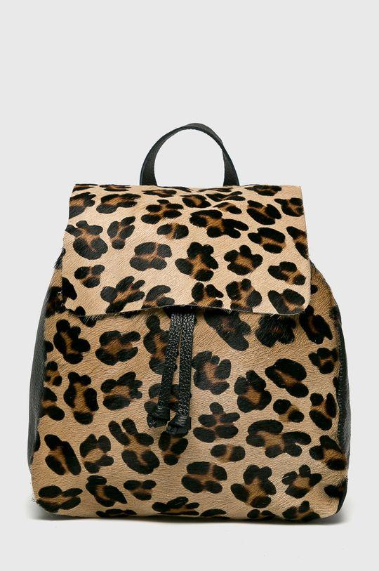 viacfarebná Answear - Kožený ruksak Dámsky
