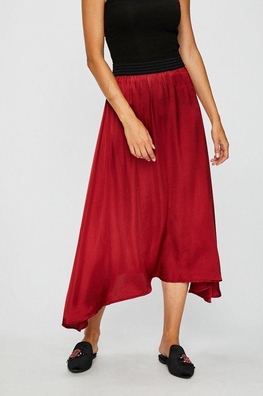 červená Answear - Sukňa Dámsky