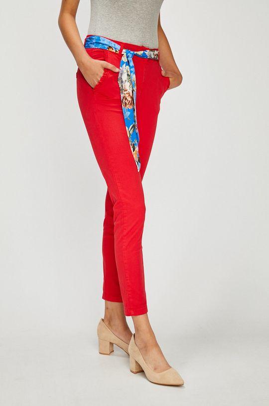 rosu Answear - Pantaloni De femei