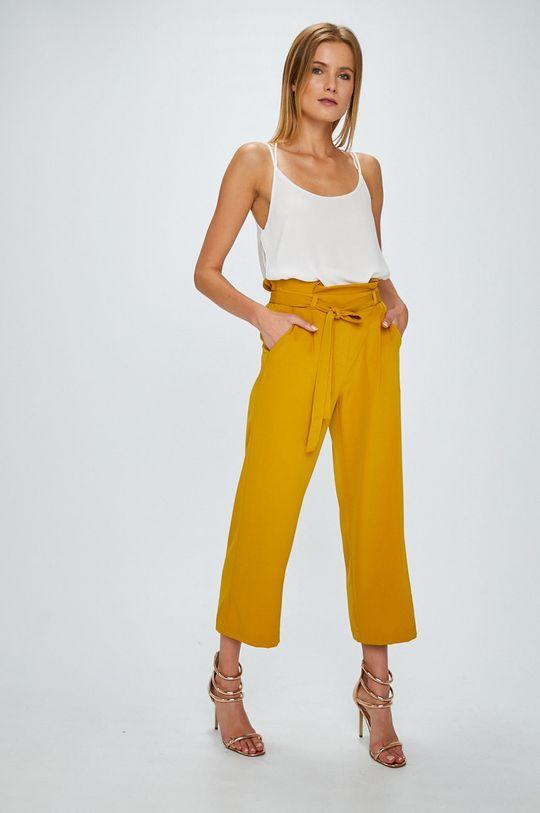 Answear - Nohavice žltá