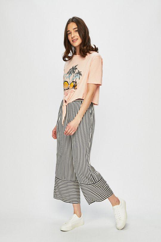 Answear - Pantaloni multicolor
