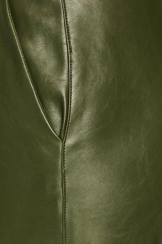 vojenská zelená Answear - Nohavice