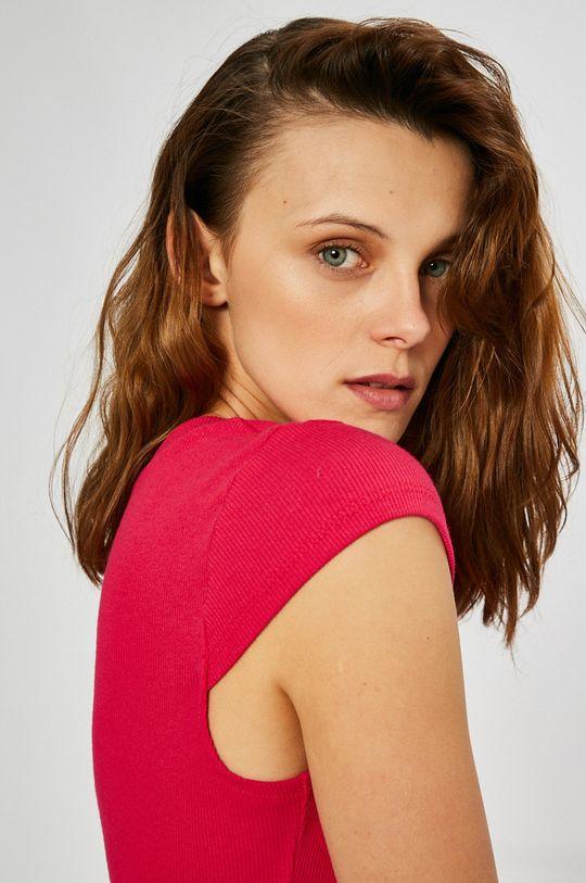 ružová Answear - Šaty