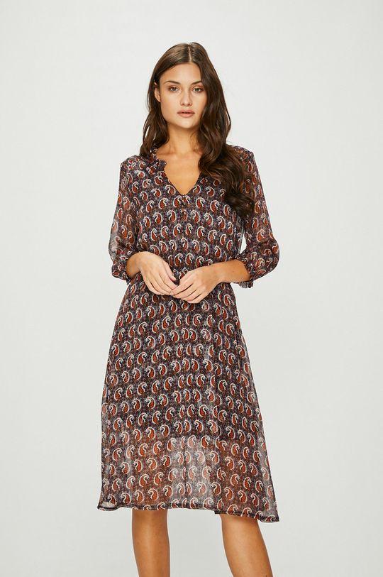viacfarebná Answear - Šaty Heritage Dámsky