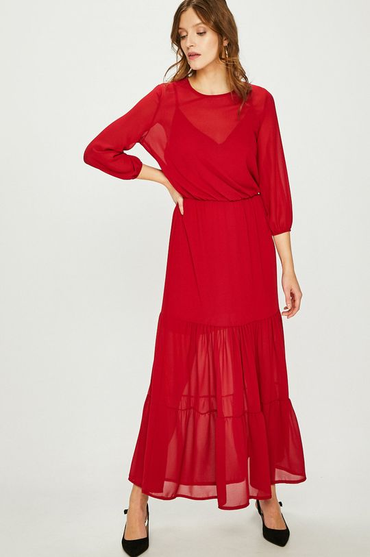 gaštanová Answear - Šaty