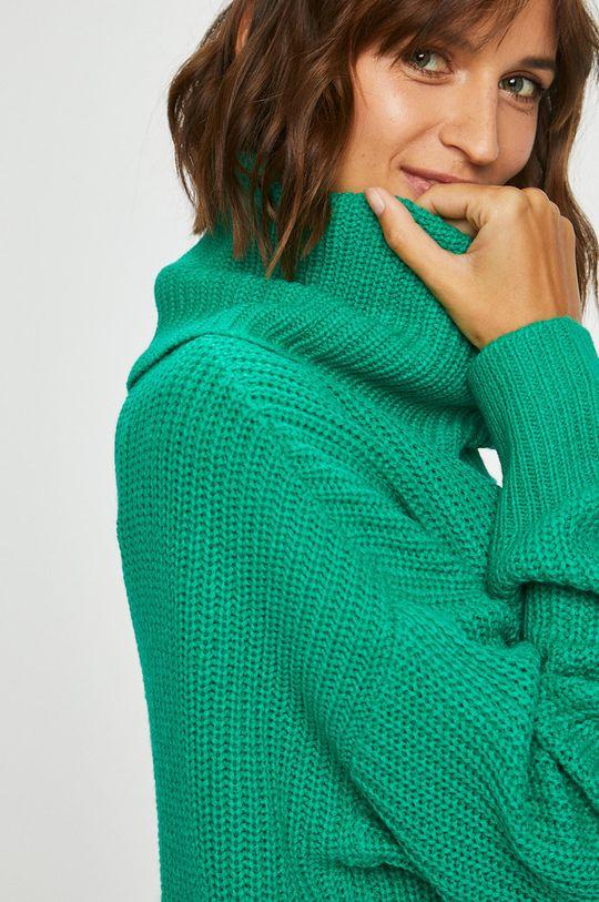 zelená Answear - Sveter