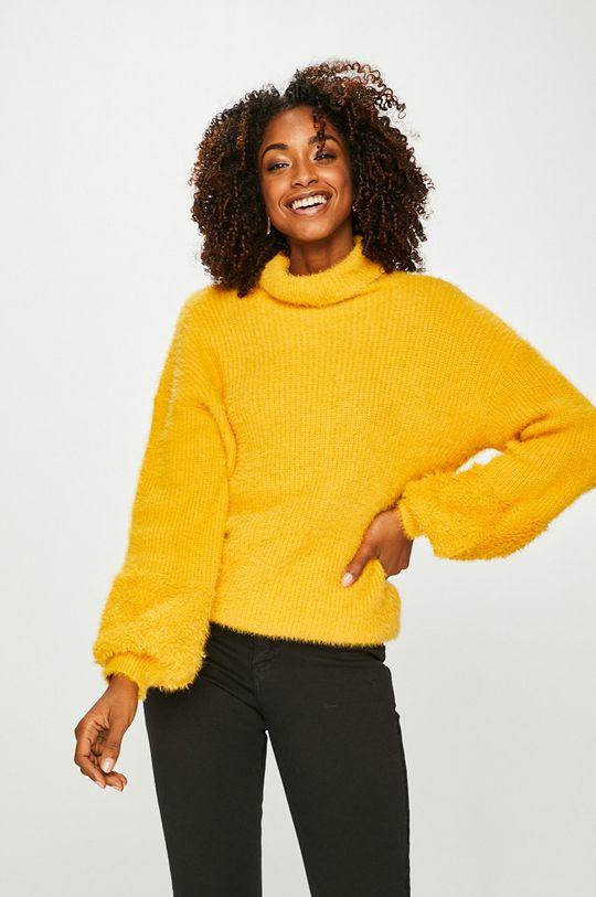 жълт Answear - Пуловер Жіночий