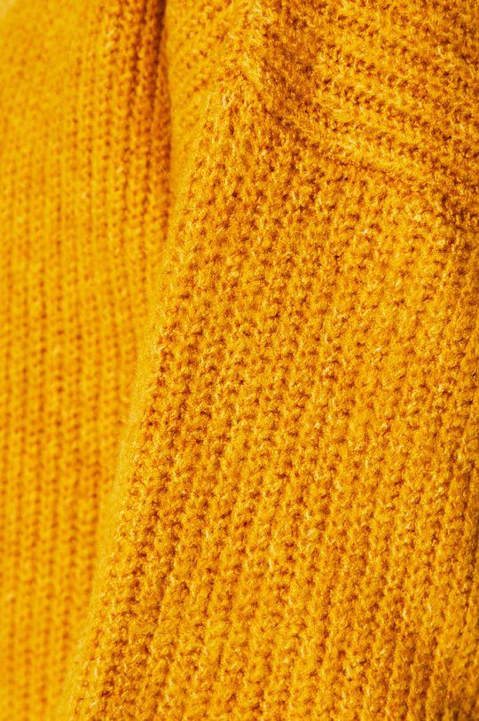 žltá Answear - Kardigán