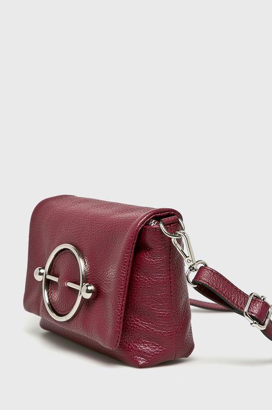 Answear - Kožená kabelka Hlavní materiál: 100% Přírodní kůže