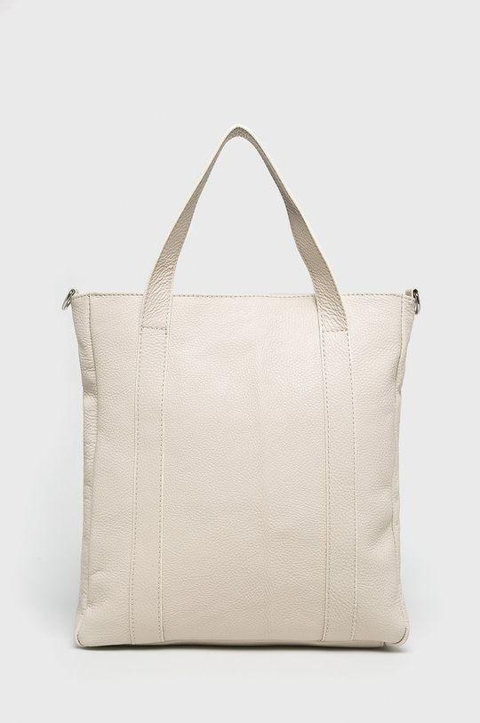 béžová Answear - Kožená kabelka