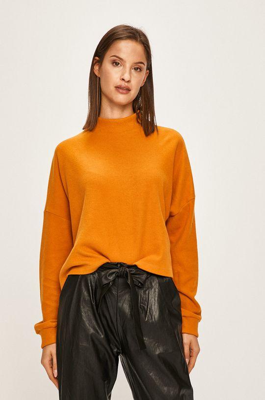 portocaliu Answear - Bluza De femei