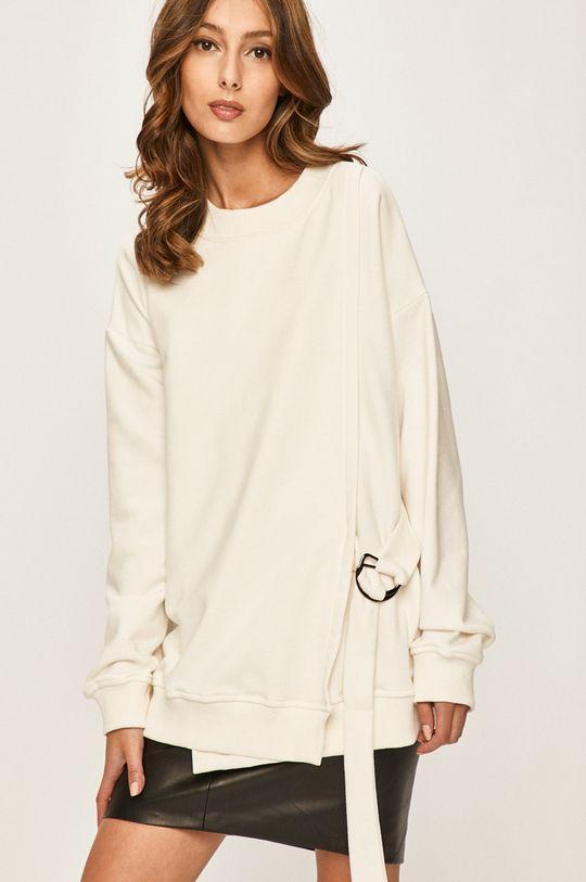 alb Answear - Bluza De femei