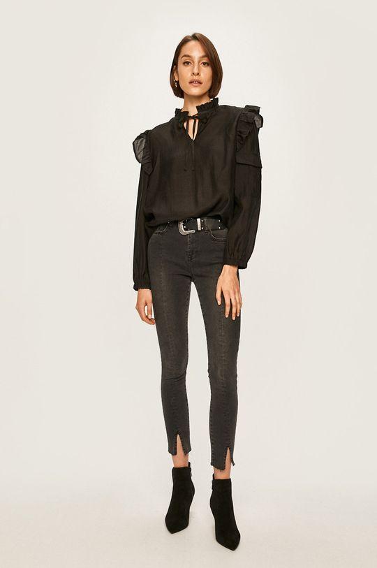 Answear - Bluza 85% Lyocell, 15% Poliester
