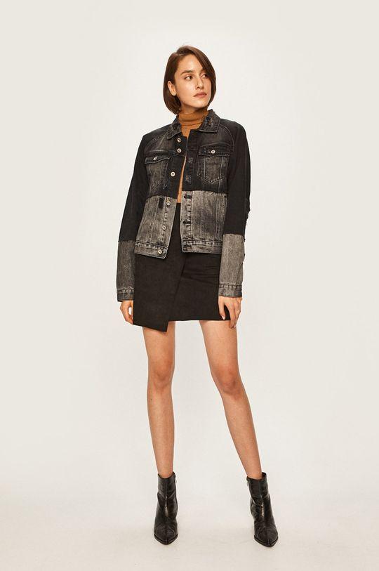 Answear - Rifľová bunda čierna