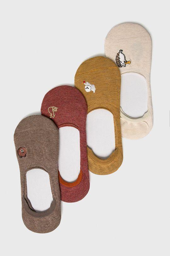 multicolor Answear - sosete (4 pack) De femei