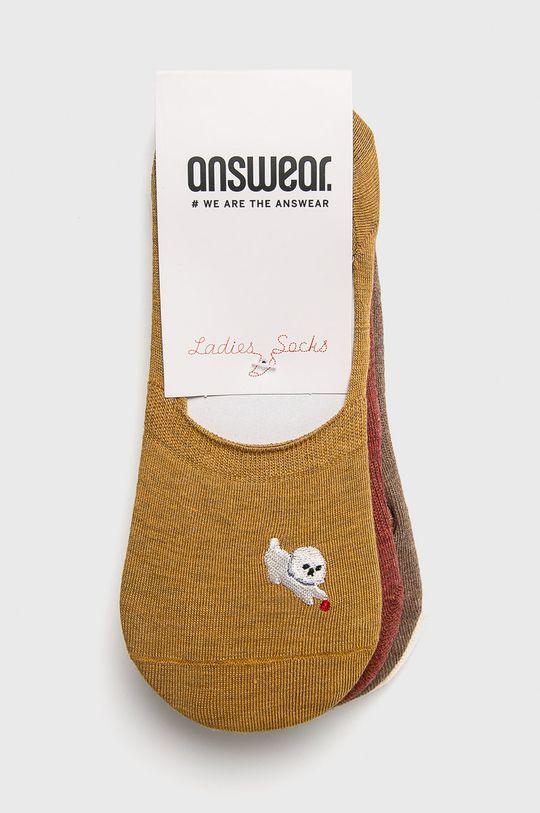 Answear - sosete (4 pack) multicolor