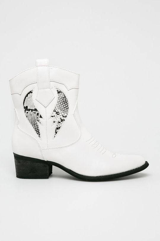 biela Answear - Členkové topánky Dámsky
