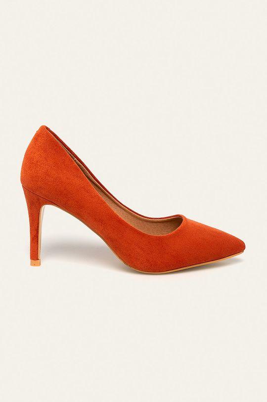 oranžová Answear - Lodičky Janeway Dámsky