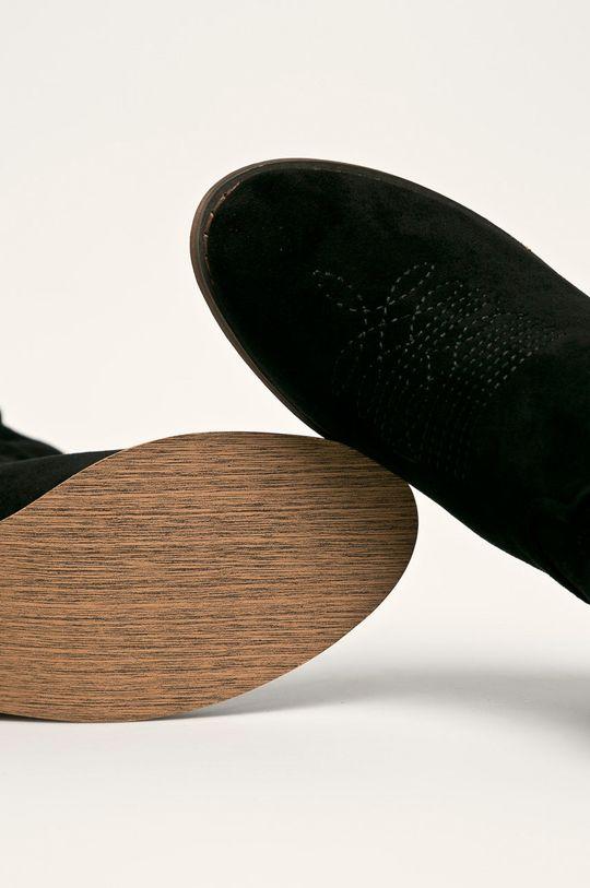 черен Answear - Боти Woman Key