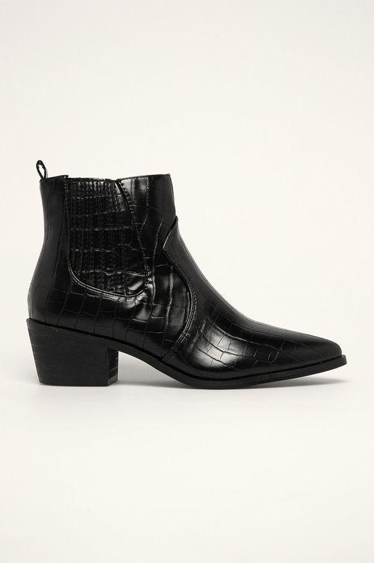 negru Answear - Botine Bellucci De femei