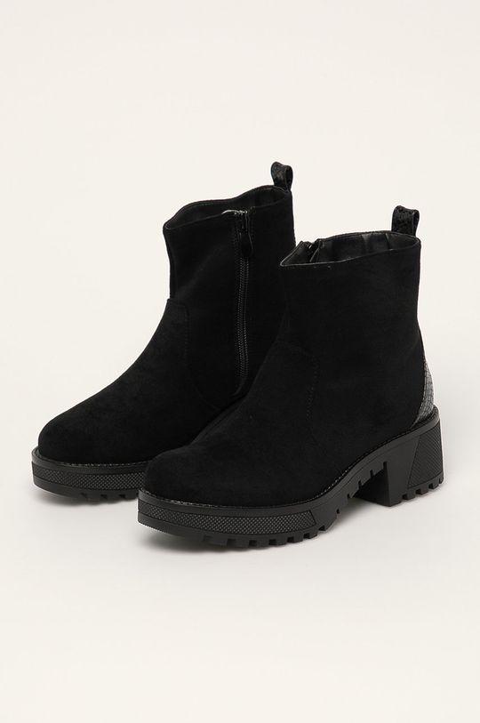 Answear - Členkové topánky Erynn čierna