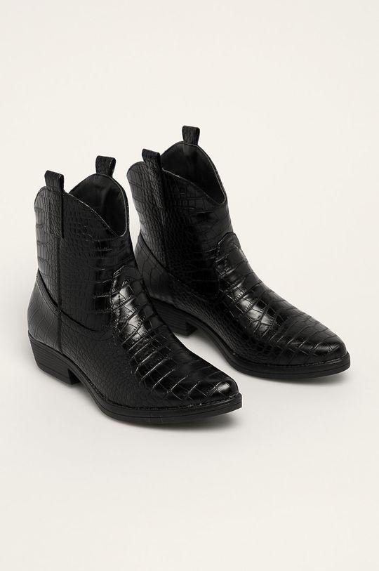 Answear - Členkové topánky Ideal Shoes čierna