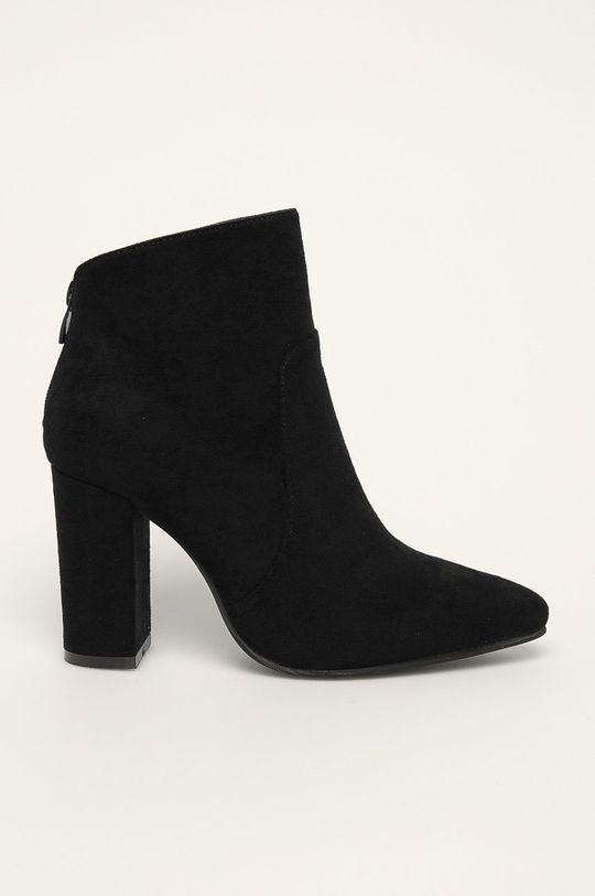 čierna Answear - Členkové topánky Ideal Shoes Dámsky