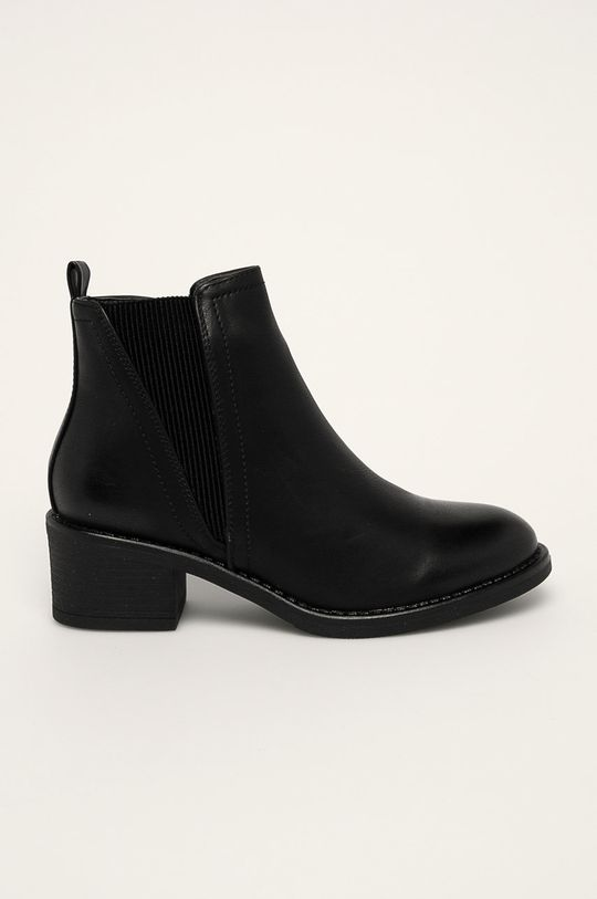 čierna Answear - Členkové topánky R and B Dámsky