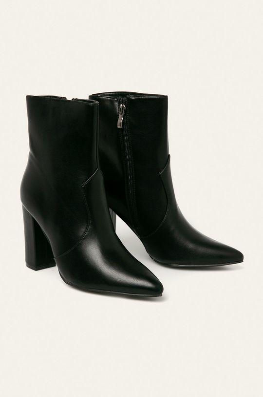 Answear - Členkové topánky Tulipano čierna