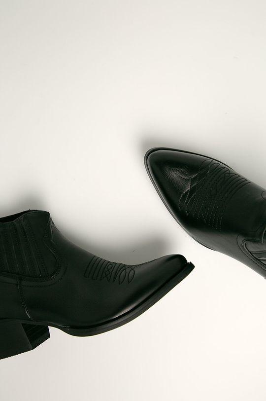czarny Answear Lab - Kowbojki FASHION&BELLE