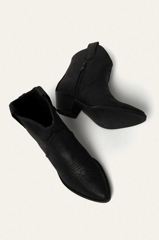 čierna Answear - Kovbojské topánky