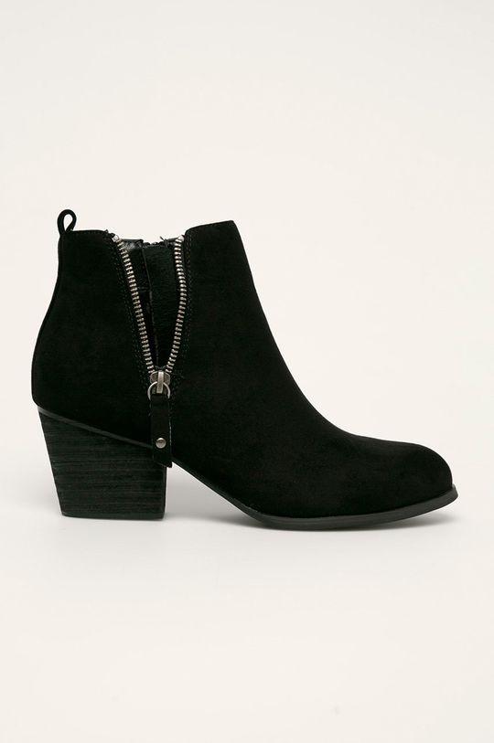 čierna Answear - Členkové topánky Bellucci Dámsky