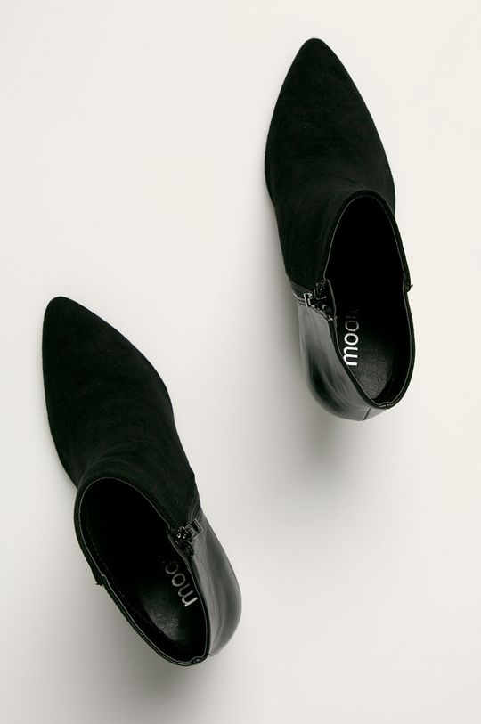 czarny Answear Lab - Botki Moov