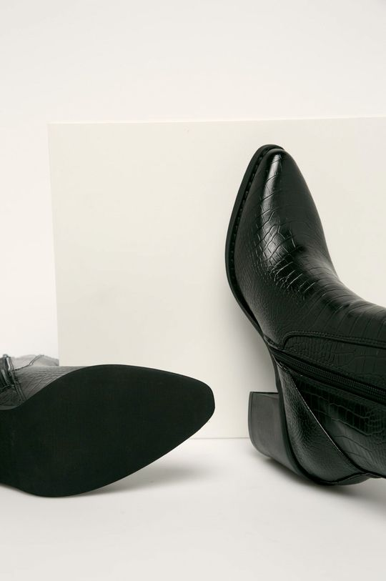 czarny Answear Lab - Kowbojki Erynn