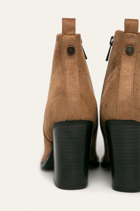 zlatohnedá Answear - Členkové topánky