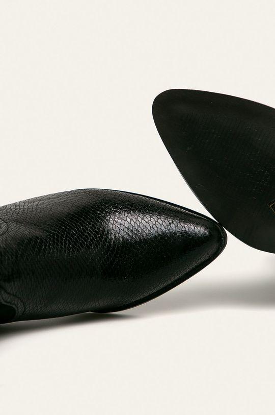 czarny Answear Lab - Botki Bellucci