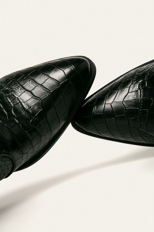 czarny Answear Lab - Kowbojki Bellamica