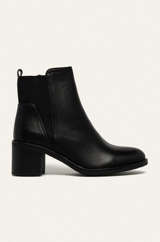 negru Answear - Botine Day-Vine De femei