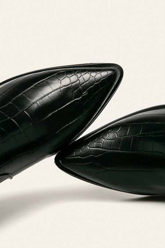 czarny Answear Lab - Kowbojki Bellostar