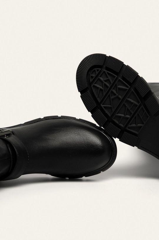 czarny Answear Lab - Kozaki Bellostar
