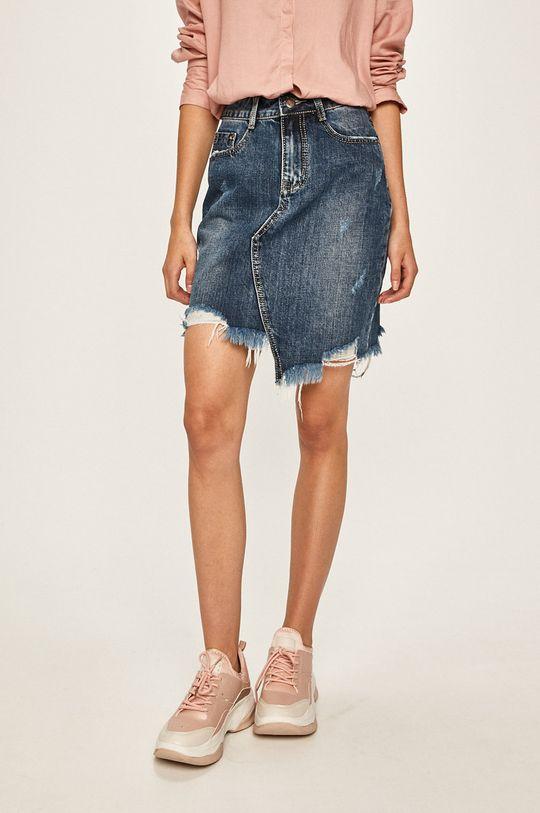 albastru Answear - Fusta jeans De femei
