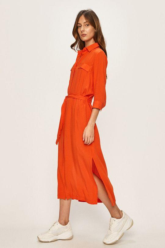 portocaliu Answear - Rochie