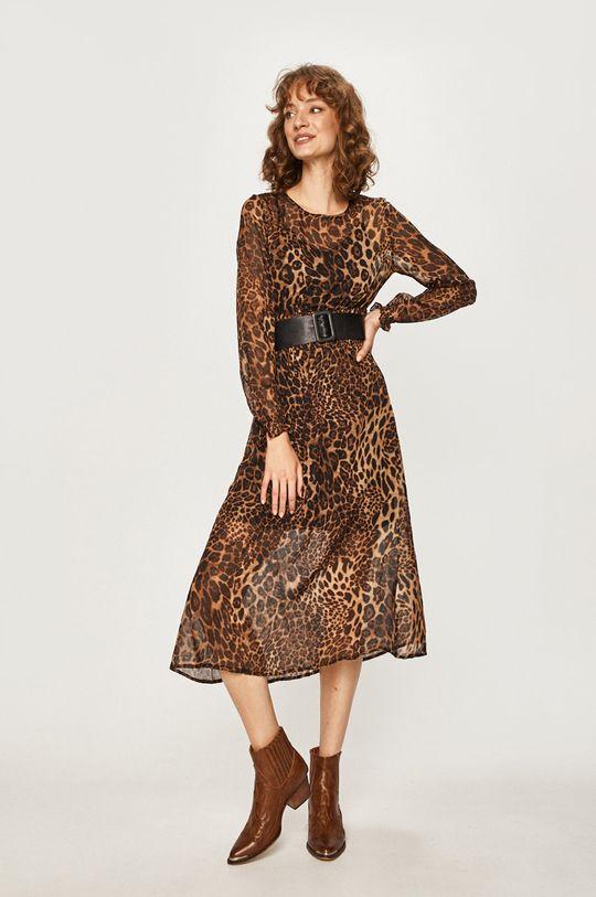 Answear - Šaty hnedá
