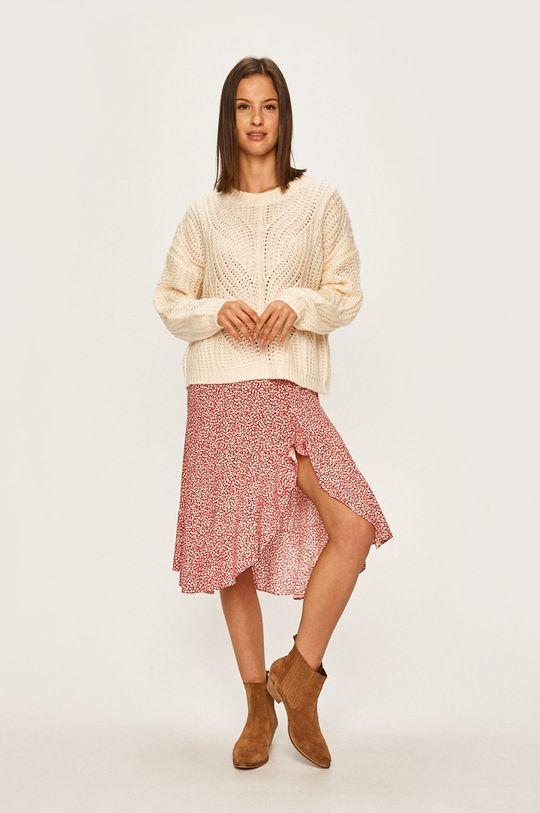 Answear Lab - Sweter kremowy