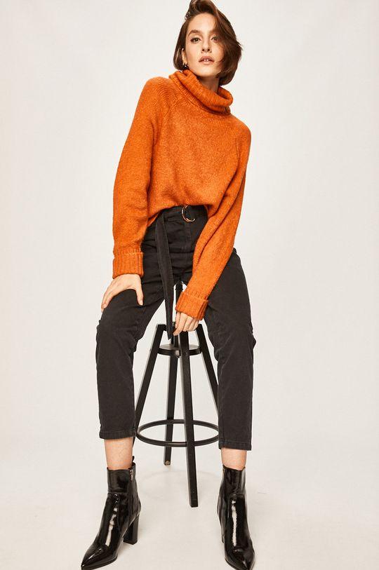 pomarańczowy Answear - Sweter Damski