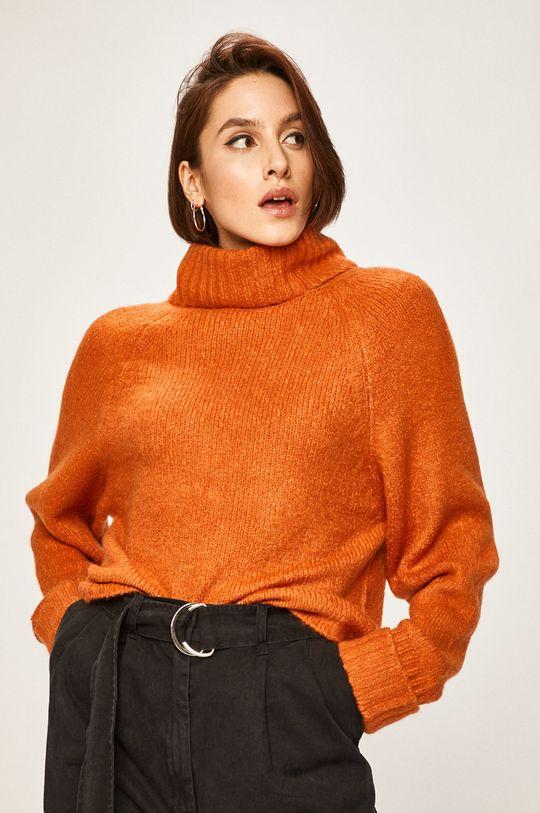 Answear - Sweter pomarańczowy