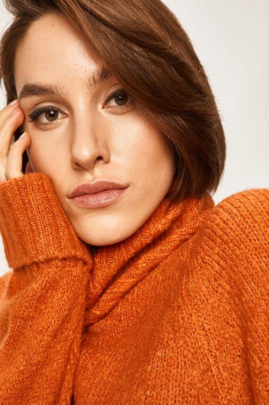 pomarańczowy Answear - Sweter