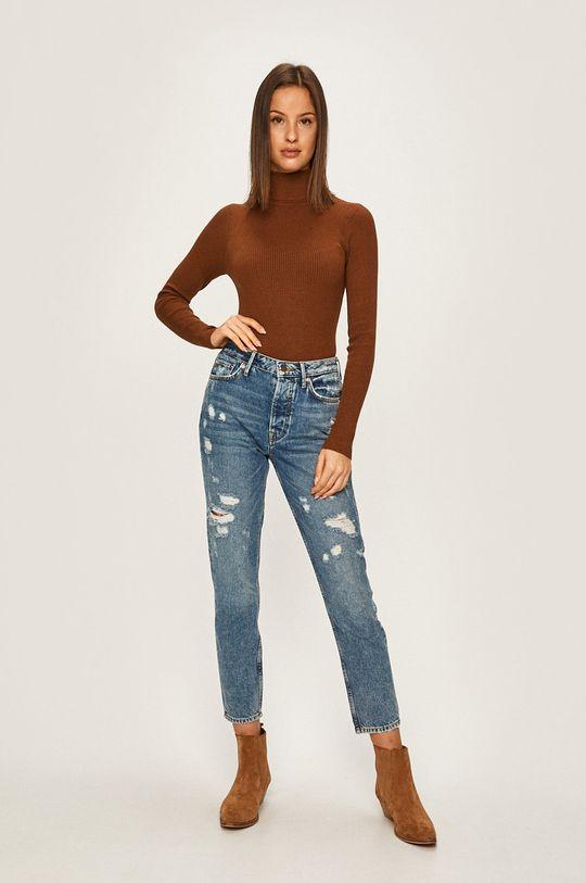 Answear Lab - Sweter brązowy
